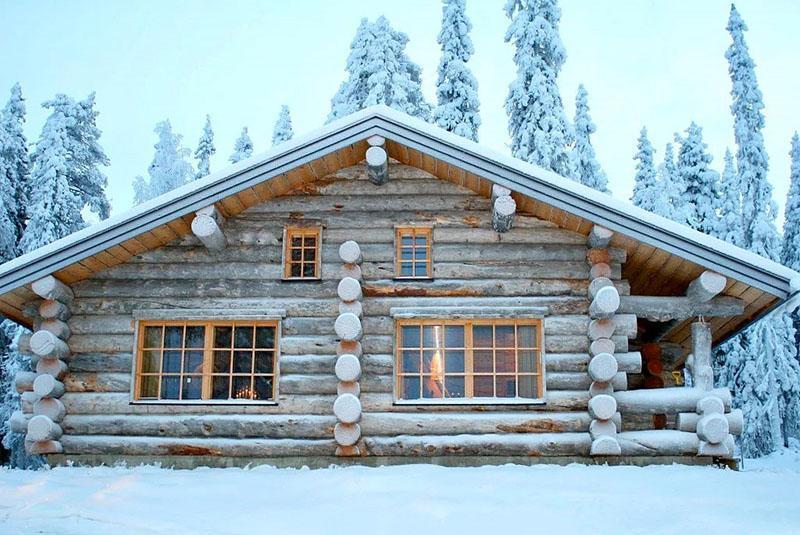 дома деревянные из сосны