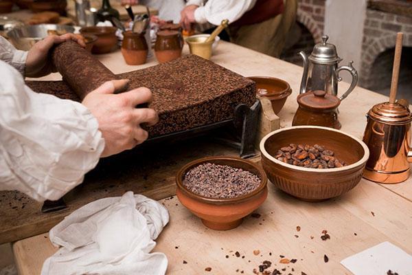 дробление зерен какао