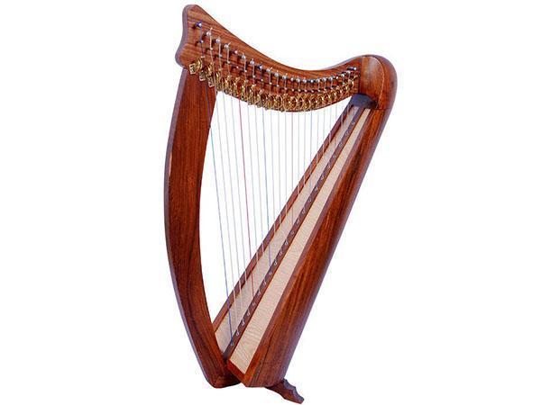 музыкальный инструмент из красного дерева