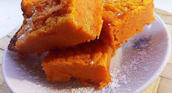 морковная запеканка для детей