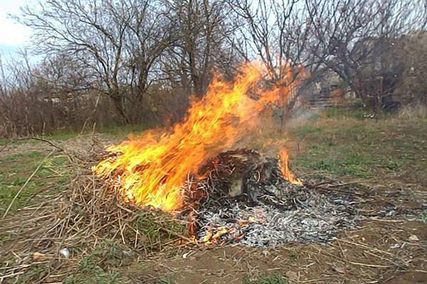 ограничиваем распространение огня