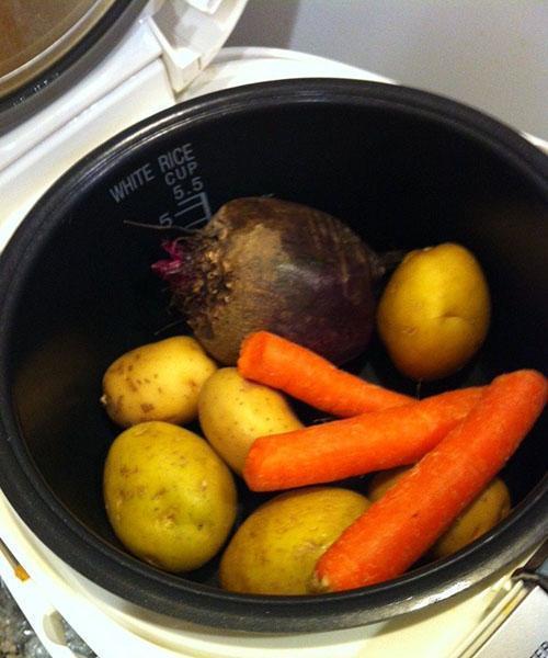 отварить овощи в мультиварке