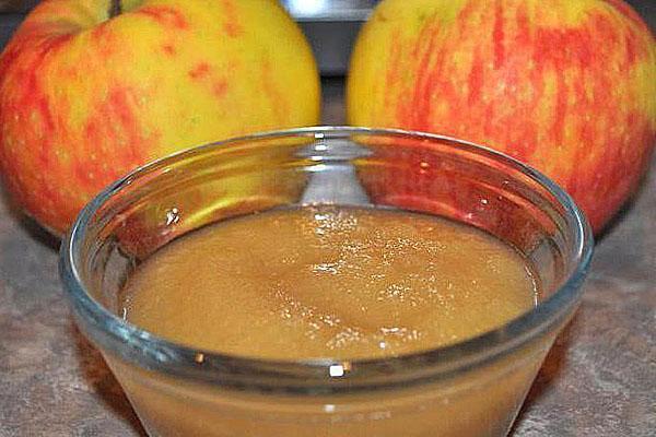 приготовить яблочное пюре
