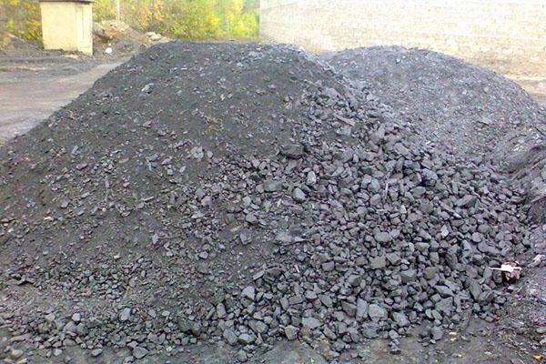 угольная зола