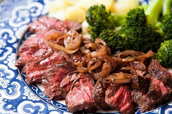запеченная в духовке говядина