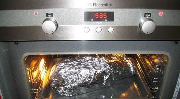 запекаем в духовке