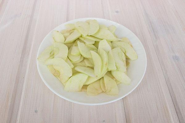 подготовить яблоки
