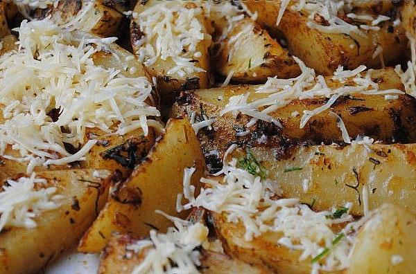 картофель айдахо с сыром