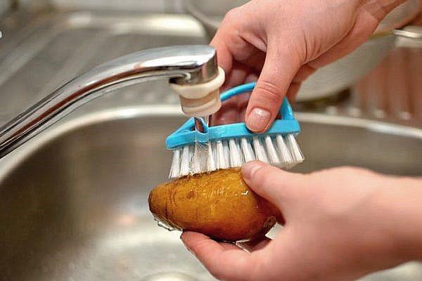 тщательно помыть