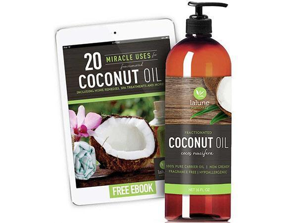 натуральное кокосовое масло