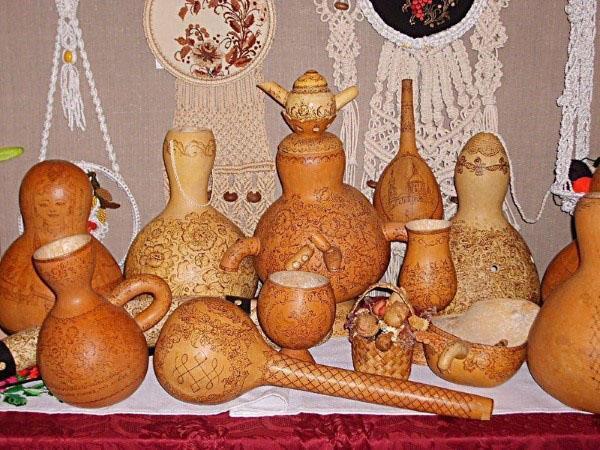 изделия из спелых плодов лагенарии