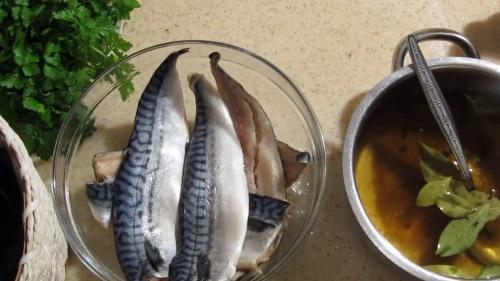 рыба и рассол