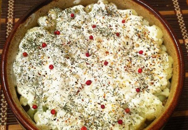 И диета, и праздник - запеканка из цветной капусты