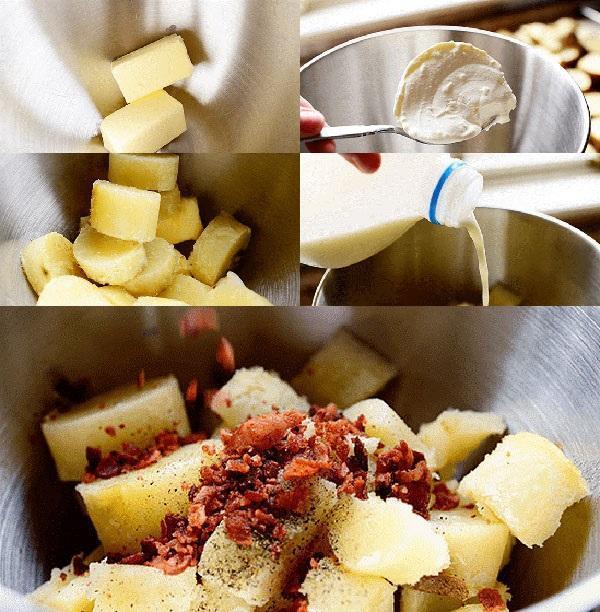 приготовление начинки для картофеля