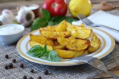 картофель по простому рецепту