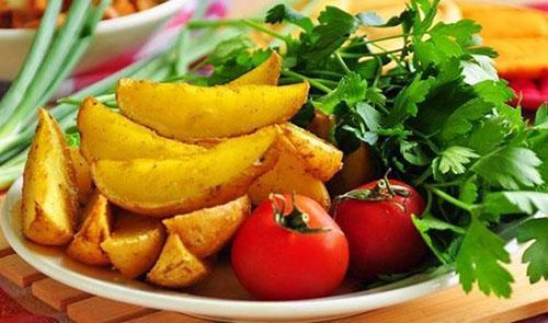подавать с овощами