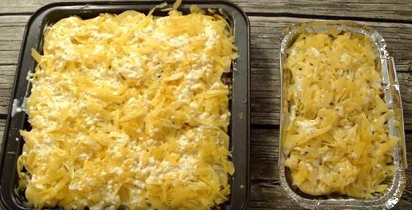 поставить картофель в духовку