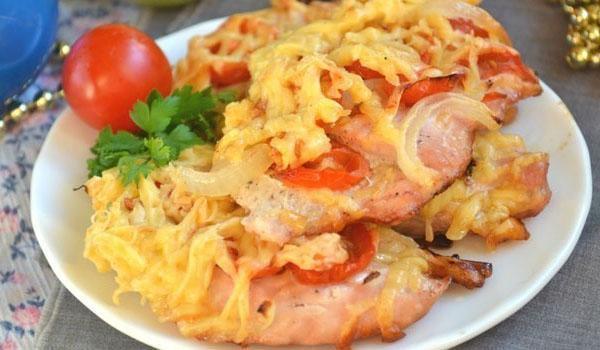 легкая закуска из картофеля
