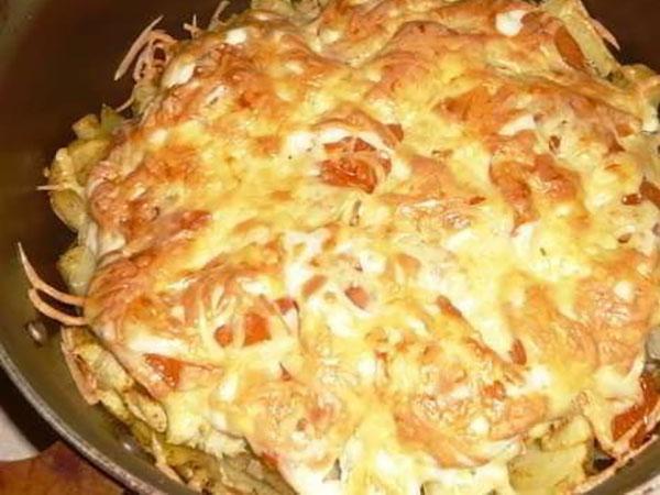картофель - по-французски в духовке