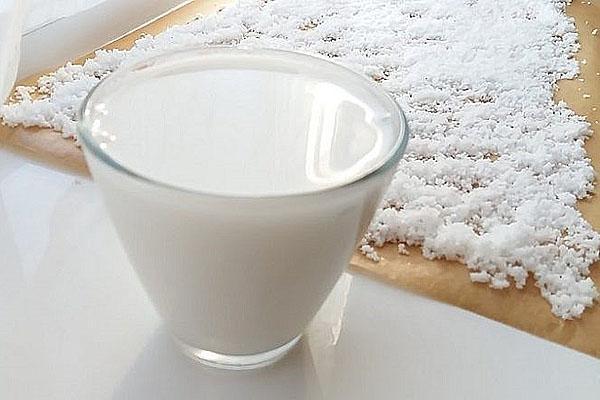 молоко из кокосовой стружки