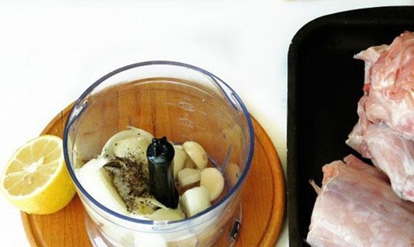 приготовить маринад для кролика