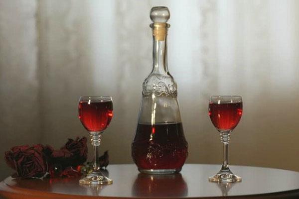 настойка клюквы на спирту