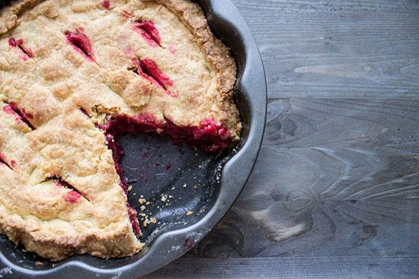 клюквенный пирог по традиционному рецепту