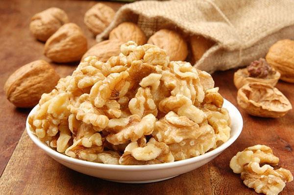 подготовить грецкие орехи