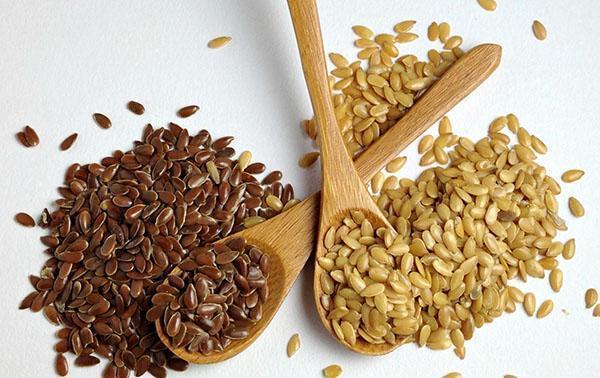 семена льна для укрепления сосудов
