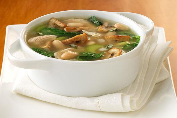 суп из свежих шампиньонов с картофелем