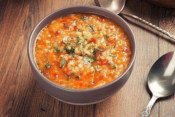 суп с чечевицей быстрого приготовления