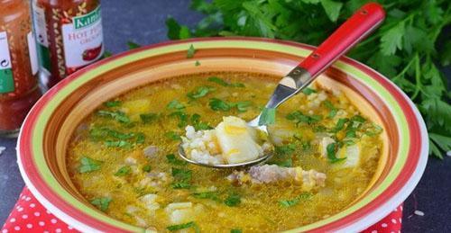 рисовый суп для детей