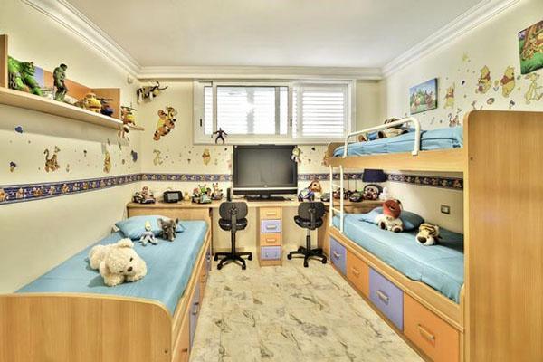 комната для трех мальчишек