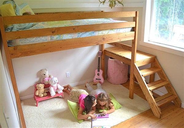 кровати для детей своими руками