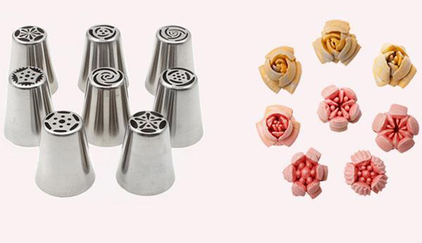 насадки для изготовления цветочков