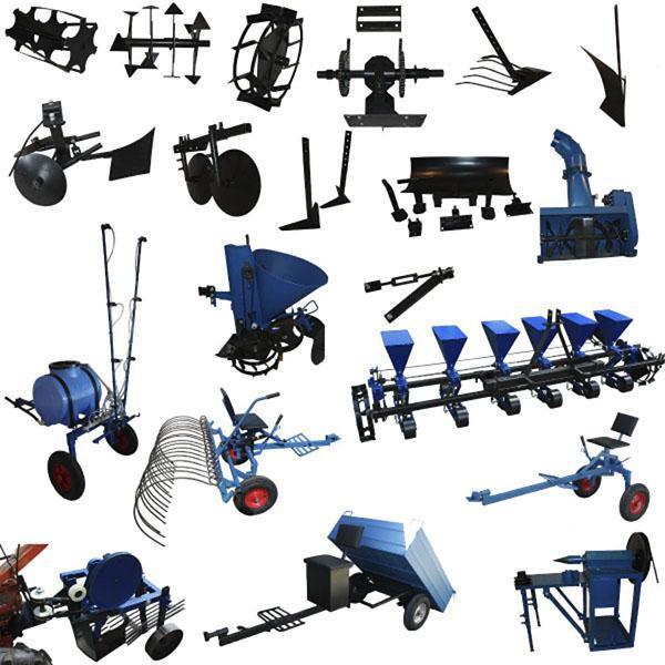 виды навесного оборудования