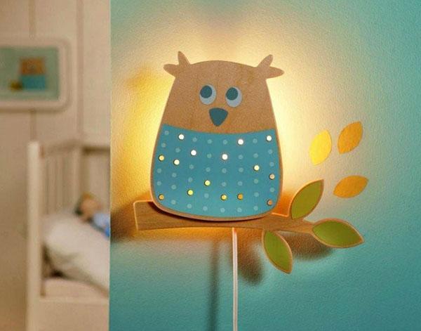 светильник сова