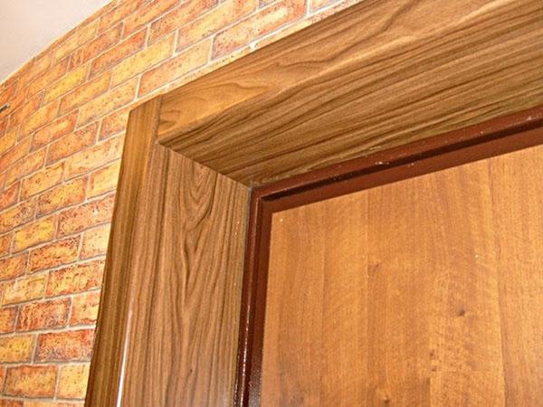 дверные откосы из накладных панелей