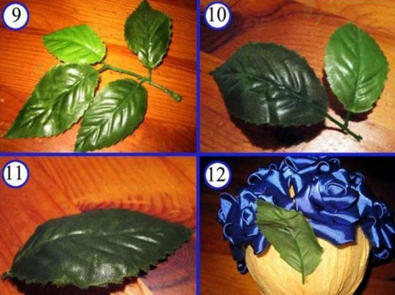 использование листочков