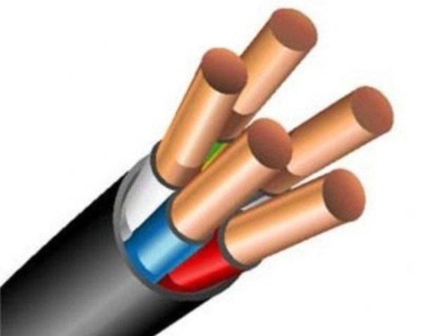 силовой кабель из нескольких проводников