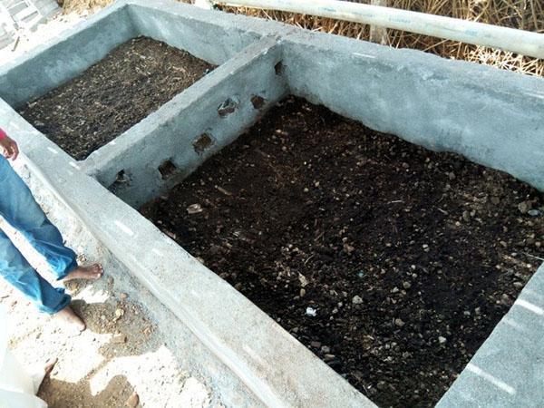 компостная яма закрытого типа