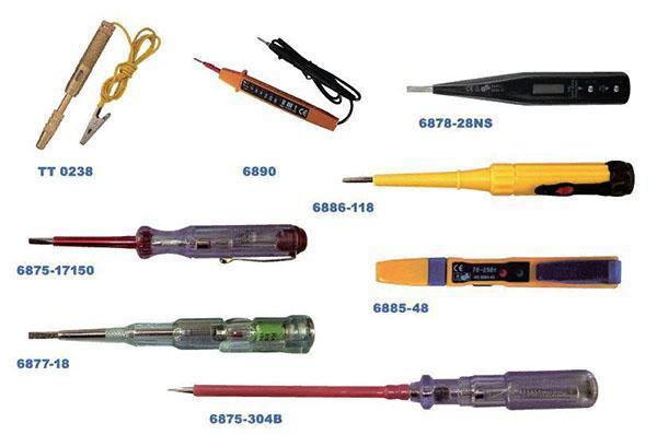 разные модели сигнализаторов скрытой проводки