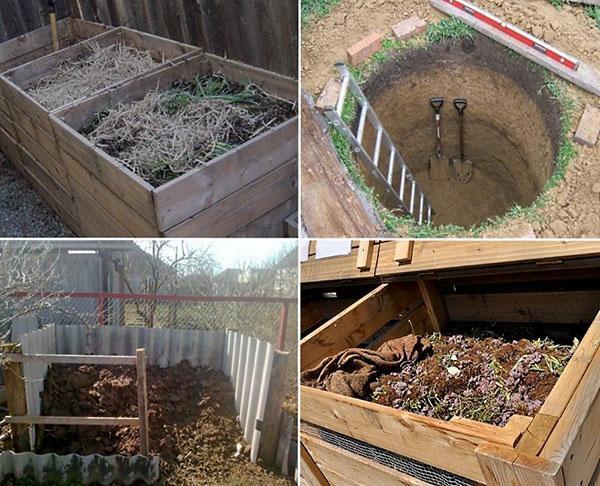компостные ямы