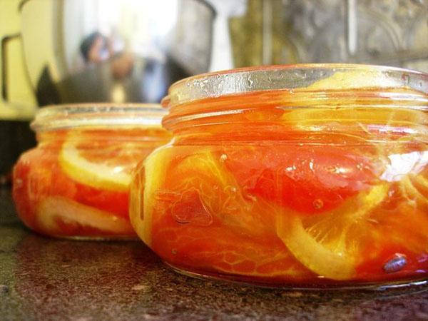 варенье из помидор с лимоном