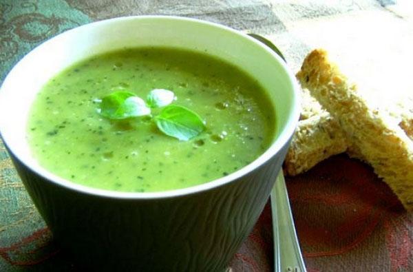 суп-пюре из душицы