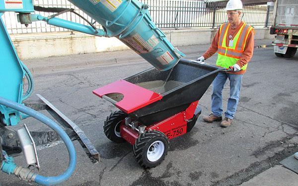 транспортировка готового бетона