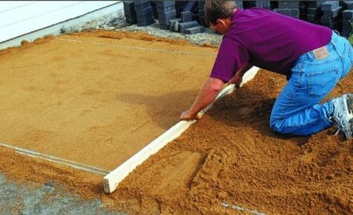 песчаная основа