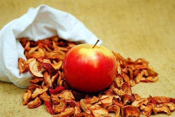 полезные свойства сушеных яблок