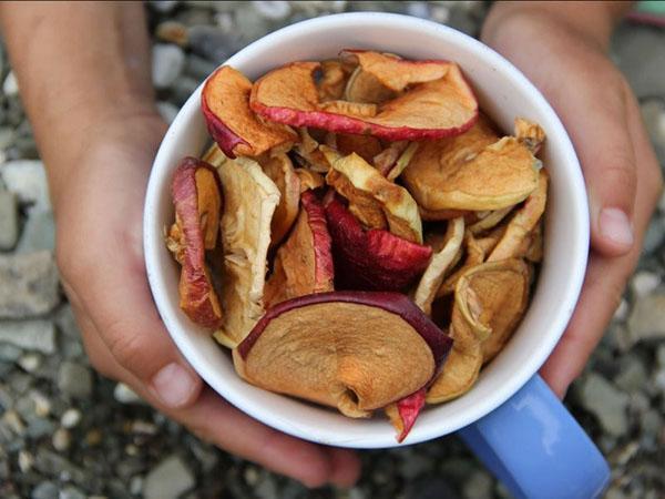 употребление яблочной сушки
