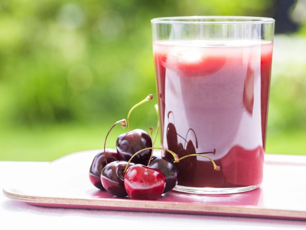 сок вишни при подагре
